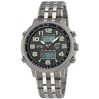 ONE (Eco Tech Time) Grey Stainless Steel EGS-11302-22M Men's Watch