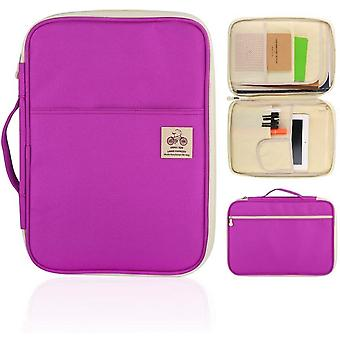 Portable A4 Document Briefcase For Notebook