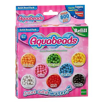 Toy drawing tablets multicoloured solid bead pack