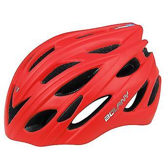 Maastopyöräilykypärä ulkona, pyöräilykypärä takavalolla (57-62cm)(Punainen)