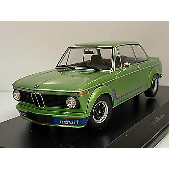 BMW 2002 Turbo 1972 Green Metallic 1:18 Minichamps 155026206