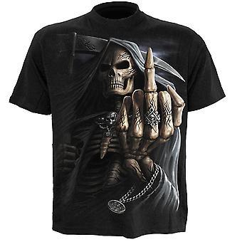 Spirale dell'osso dito t-shirt