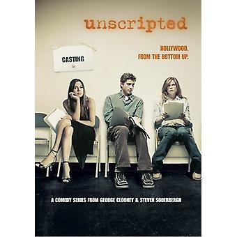 Unscripted importation USA [DVD]