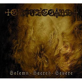 Griftegard - importación solemne sagrado severo [CD] Estados Unidos