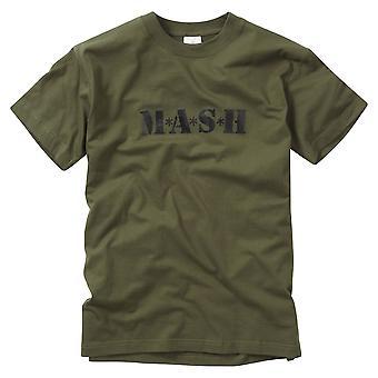 Nieuwe gedrukte T-Shirt Mash Retro Tv Show