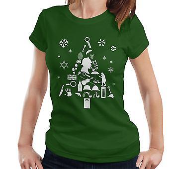 Christmas Tree Sherlock Holmes Women's T-Shirt