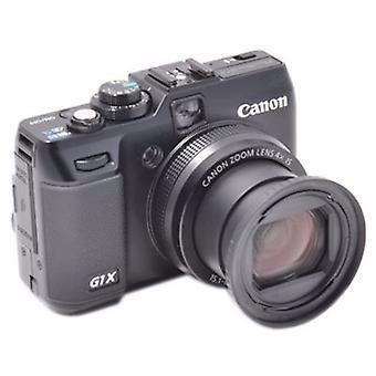 Canon PowerShot G1X korvaa JJC Canon Ko DC58C suodatin adapteri