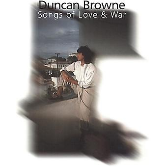 Duncan Browne - Songs of Love & War [CD] USA import