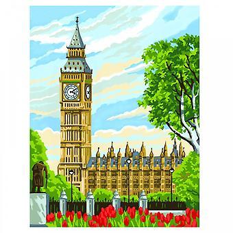 Sequin Art Big Ben Painting By Numbers