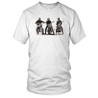 Steve Mcqueen Offorad Motorcycle Motorbikes Cool Biker Kids T Shirt