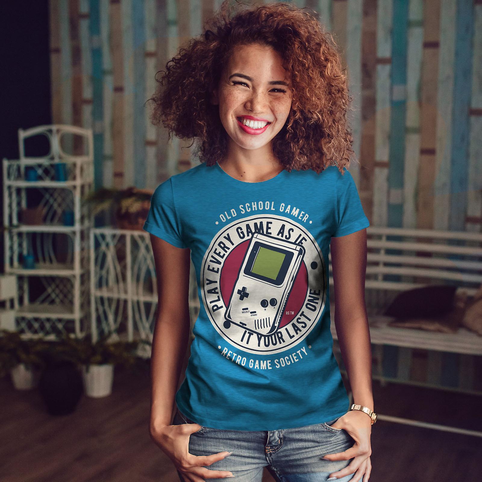 Jeu Société royale BlueT-chemise femme | Wellcoda