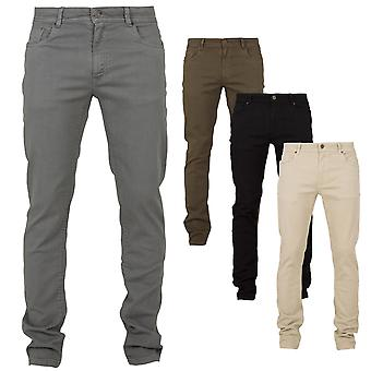 Urban classics - perus venyttää Twill 5 kukkaro housut