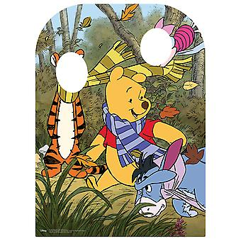 Winnie The Pooh and Friends Child Size Stand-in Cardboard Cutout / Standee / Standup