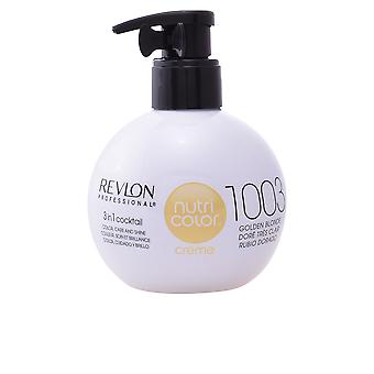 Revlon Nutri cor Creme #1003-dourado loira 270 Ml unissex
