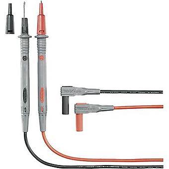 الرصاص اختبار السلامة و1.20 م الأسود، الأحمر VOLTCRAFT MS-4N