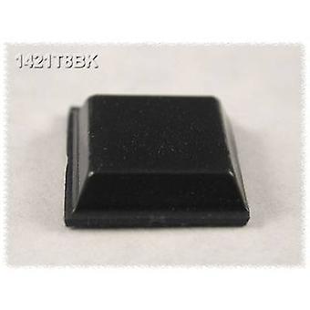 Hammond elektronik 1421T8BK fot självhäftande, cirkulär svart (Ø x H) 12,1 x 3,1 mm 24 dator