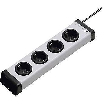 Ehmann 0200x00042301 Socket strip (w/o switch) 4x Grey PG connector 1 pc(s)
