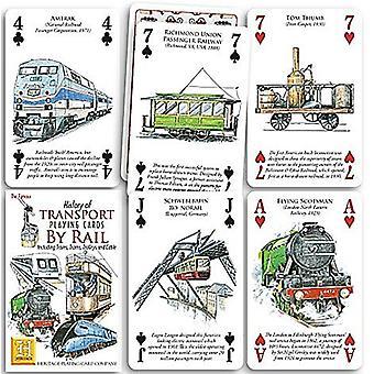 トランスポート - 52 のトランプ (+ ジョーカー) のレールセットの歴史