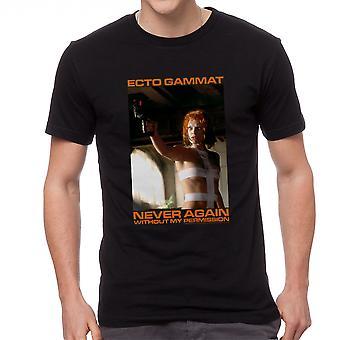 The Fifth Element Ecto Gammat Men's Black T-shirt