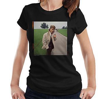 TV Times Roger Moore Park Stroll 1968 Women's T-Shirt
