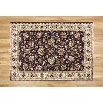 Alhambra 6992A Dark Blue Red The combination of yarns makes the look of this rug  Rectangle Rugs Traditional Rugs