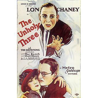 La locandina del tre film Unholy (11 x 17)