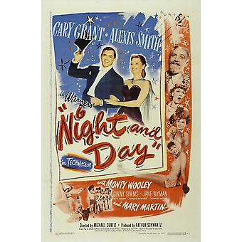 Night and Day Movie Poster (11 x 17)