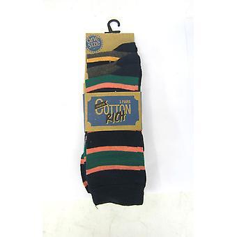 Mens RJM Cotton Rich Socks SK041