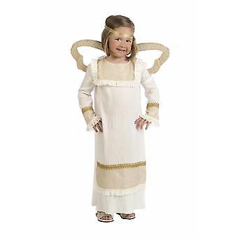 Angel Mächenkostüm kerst Angel Geboortekerk spelen Childs kostuum
