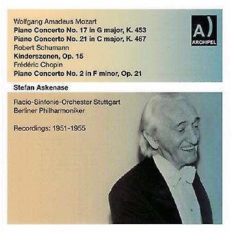 モーツァルト/Askenase - 17 ・ 21 [CD] Klavierkonzert アメリカ インポート