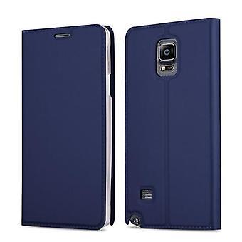 Samsung Galaxy NOTE 4 -taitettavan puhelinkotelon kotelo - kansi - jalustatoiminnolla ja korttilokerolla