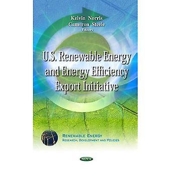 Iniciativa de exportação dos EUA energia renovável e eficiência energética