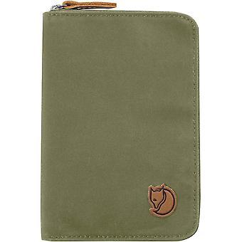 Fjallraven paspoort portemonnee - groen