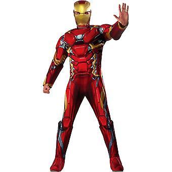 Iron Man inbördeskriget dräkt vuxen