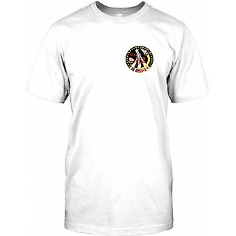 NASA Apollo 14 1992 - Space Mission Chest Logo Mens T Shirt