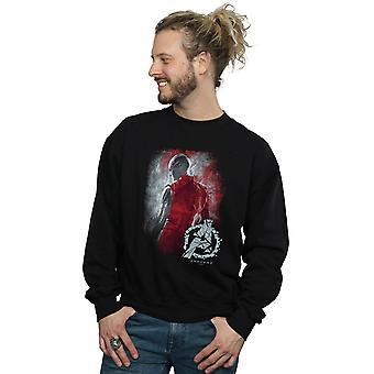 Marvel mäns Avengers Endgame Nebula borstad Sweatshirt