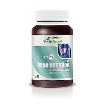 Soria Natural Hepacomplex plus mg dos 60 tabletter