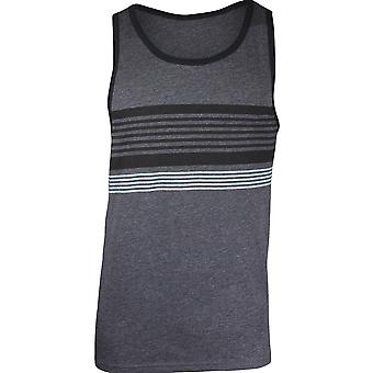 Quiksilver Mens Division Tank Top - Charcoal Heather