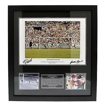 Pele & Banks Dual Signed Framed Print