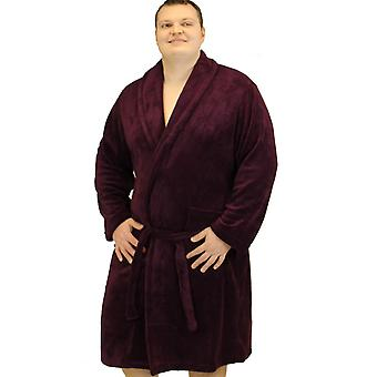 Espionage Plain Fleece Dressing Gown