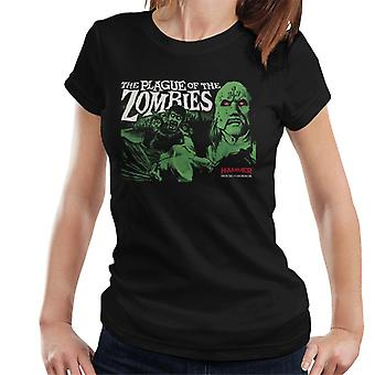 Hammer The Plague Of The Zombies Poster Women's T-Shirt