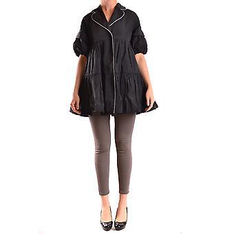 Isola Marras Ezbc255004 Women's Black Nylon Trench Coat