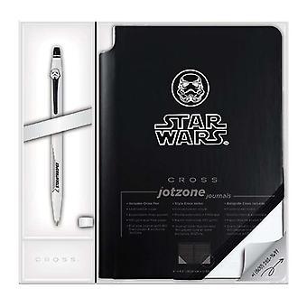 Cross Star Wars Rollerball Click Pen and Jotzone Journal Sets
