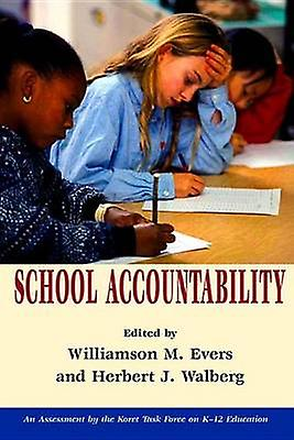 School Accountability by Williamson M. Evers - 9780817938826 Book