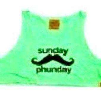 Team phun sunday phunday crop top green