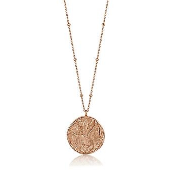 Ania Haie Rose Or Plaqué Sterling Silver Coins 'Greek Warrior' Necklace