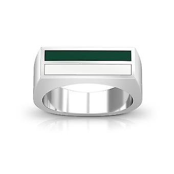 University of Hawaii Ring In Sterling Silver Design by BIXLER