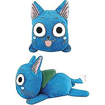 Plush - Fairy Tail - Happy Lie Prone Posture Toys Soft Doll Licensed ge52080