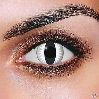 Gray Dragon Contact Lenses (Pair)
