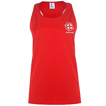 FIFA Womens World Cup England Vest Tank Tee Top Ladies Sleeveless
